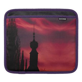 pink purple iPad sleeve