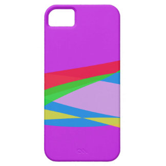 Pink Purple Minimalism Abstract Art Case For iPhone 5/5S