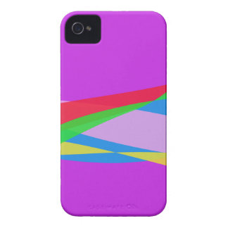 Pink Purple Minimalism Abstract Art iPhone 4 Case-Mate Cases
