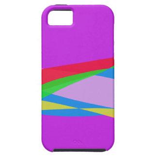 Pink Purple Minimalism Abstract Art iPhone 5 Case