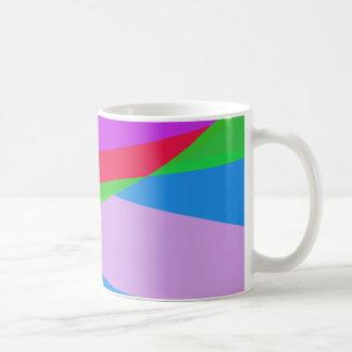 Pink Purple Minimalism Abstract Art Coffee Mug