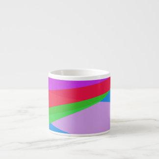 Pink Purple Minimalism Abstract Art Espresso Mug