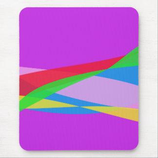 Pink Purple Minimalism Abstract Art Mousepad
