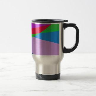 Pink Purple Minimalism Abstract Art Mugs