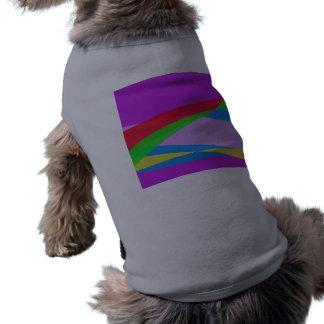 Pink Purple Minimalism Abstract Art Pet Clothing
