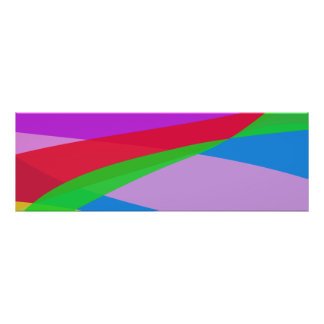 Pink Purple Minimalism Abstract Art Posters