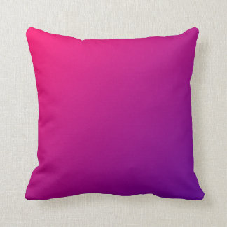 Pink Purple Ombre Cushion