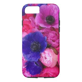 Pink & Purple Peonies & Roses Floral Phone Case