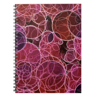 Pink_Purple_Red Pattern Photo Notebook