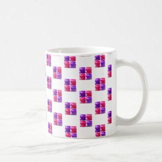 Pink Purple Shiny Bling Gift Box Pattern Coffee Mugs