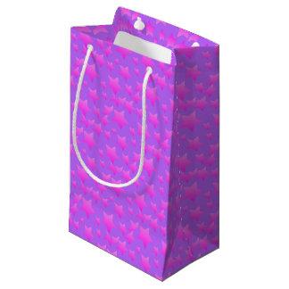 Pink/Purple Star Pattern Small Gift Bag