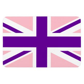 Pink Purple Union Jack Magnet