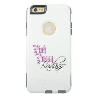 Pink Pussy Badass:OtterBox iPhone 6+ Commuter Case