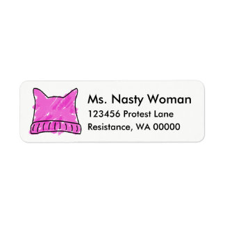Pink Pussy Hat Labels
