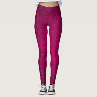 Pink Queen Plush Leggings