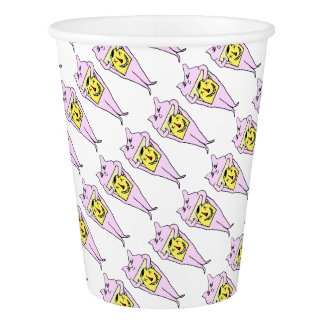 Pink Rabbit Party Supplies Paper Cup