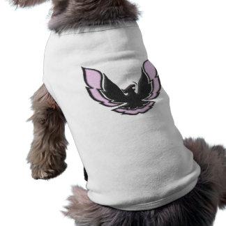 Pink Racing Bird Sleeveless Dog Shirt