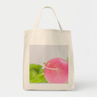 Pink Radish with Leaves