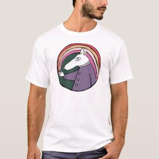 Pink Rainbow Dog T-Shirt