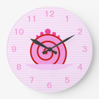 Pink Raspberry Cake. Clocks