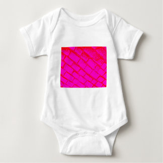 pink red cobbles infant creeper