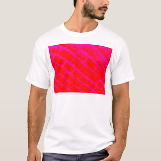 pink red cobbles reversed T-Shirt