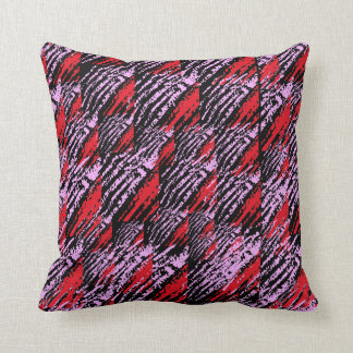 pink-red cushion