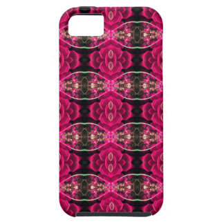 Pink Red Fun Alternative Floral Illusion Print iPhone 5 Cover