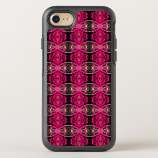 Pink Red Fun Alternative Floral Illusion Print OtterBox Symmetry iPhone 7 Case