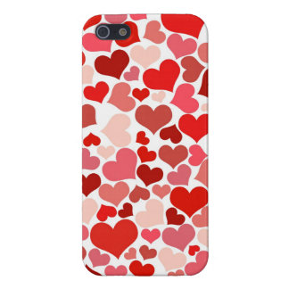 Pink Red Hearts Pattern Valentine's Day Love Gifts Case For The iPhone 5