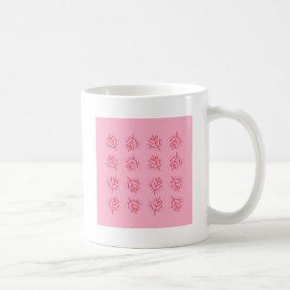 PINK  RED Seaweeds. T-shirts and more Coffee Mug