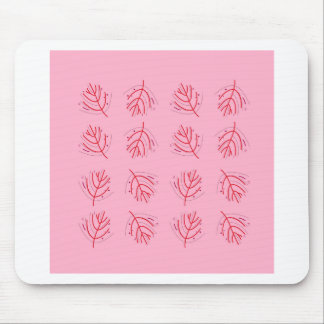 PINK  RED Seaweeds. T-shirts and more Mouse Pad