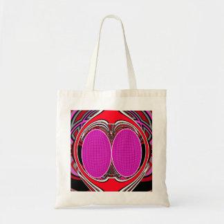 Pink red superfly design bag