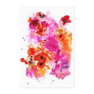 Pink Reef Canvas Print