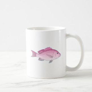 Pink Reef Fish Coffee Mug