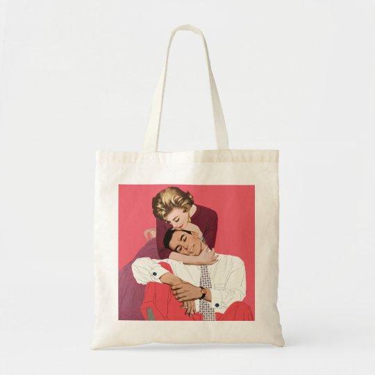 Pink Retro Romance, Vintage Romantic Love