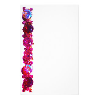 Pink Rhinestones  - vintage jewelry Stationery