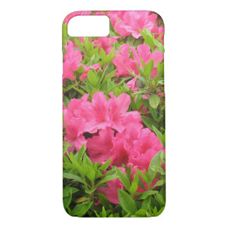 Pink rhododendron spring flower iPhone 8/7 case