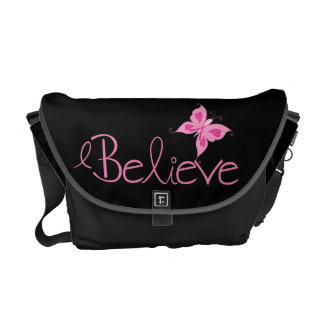 Pink Ribbon Breast Cancer Awareness Commuter Bags
