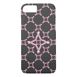 Pink Ribbon Breast Cancer Awareness iPhone 7 Case
