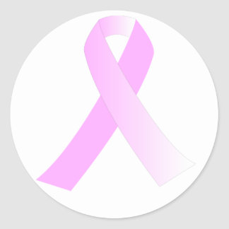 Pink Ribbon Breast Cancer Awareness Sticker