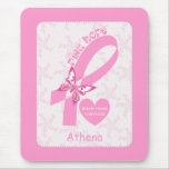 Pink Ribbon Breast cancer survivor & pink border