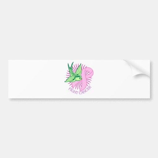 Pink Ribbon Bumper Stickers
