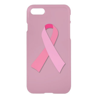 Pink Ribbon for Breast Cancer Awareness iPhone 8/7 Case