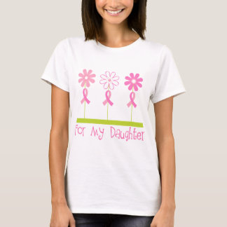 Pink Ribbon For My Daughter T-Shirt