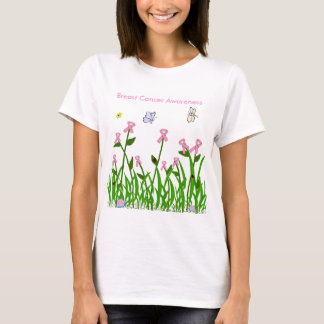 Pink ribbon garden shirt
