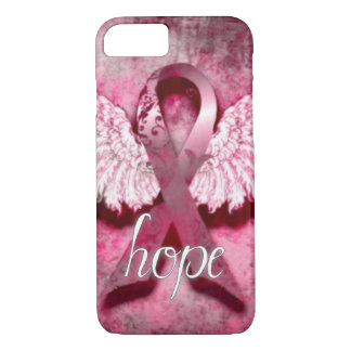 Pink Ribbon Hope by Vetro Designs iPhone 7 Case