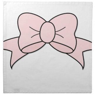 Pink Ribbon Napkin