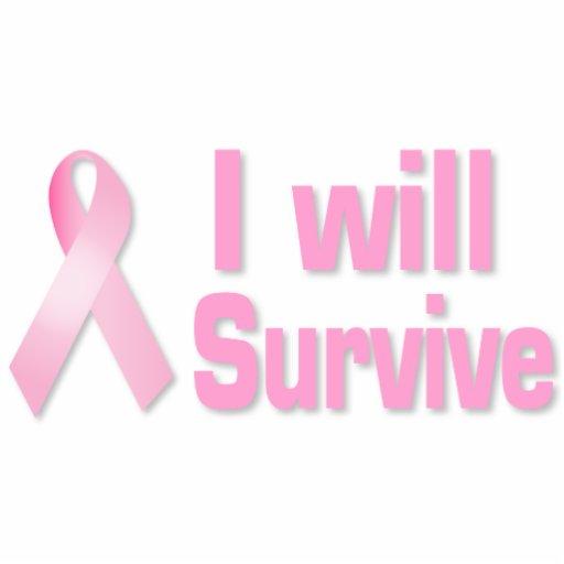 Pink ribbon cut outs