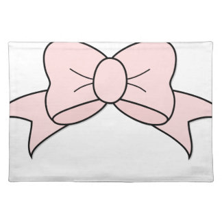 Pink Ribbon Placemat
